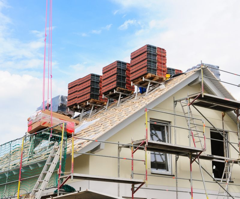 Renovering af tag / Tilbygning / Skillevæg
